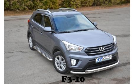 Защита передняя Hyundai Creta