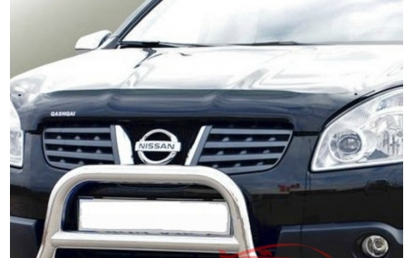 Дефлектор капота Nissan Qashqai