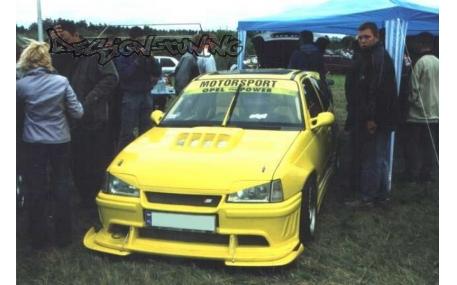 Ресницы Opel Kadet E