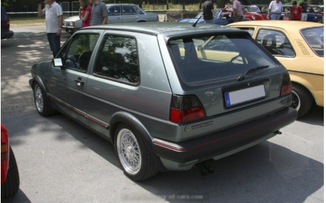 Арки Volkswagen Golf 2