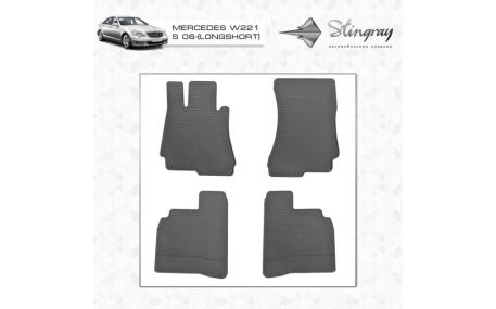 Коврики в салон Mercedes S-class W221