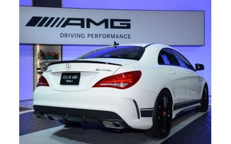 Спойлер Mercedes CLA-class W117