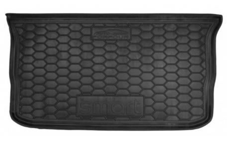 Коврик в багажник Smart Forfour С453