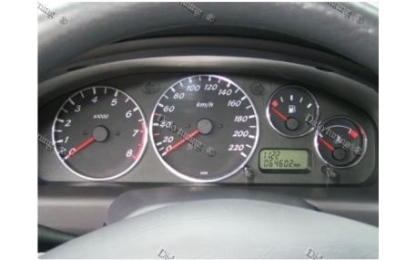 Кольца в щиток приборов Nissan Almera