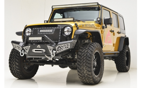 Бампер передний Jeep Wrangler