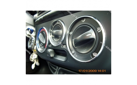 Кольца на регуляторы печки Fiat Bravo/Brava