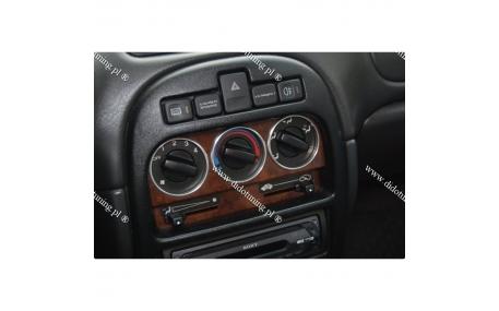 Кольца на регуляторы печки Hyundai Accent