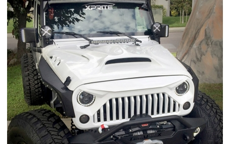 Капот Jeep Wrangler