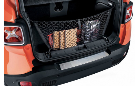 Накладка на задний бампер Jeep Renegade