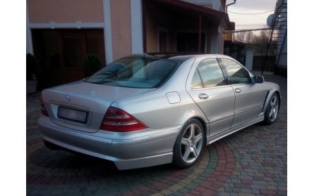 Накладка задняя Mercedes S-class W220