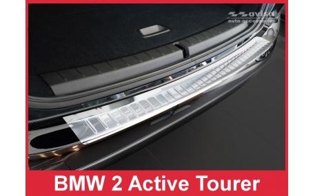 Накладка на задний бампер BMW 2 (F45)