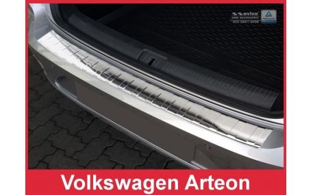 Накладка на задний бампер Volkswagen Arteon