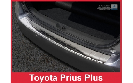 Накладка на задний бампер Toyota Prius Plus