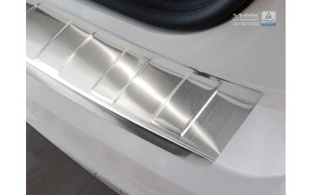 Накладка на задний бампер Audi Q2