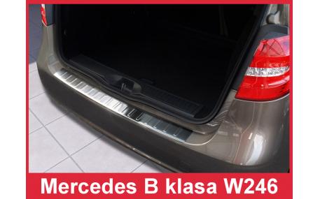 Накладка на задний бампер Mercedes B-class W246