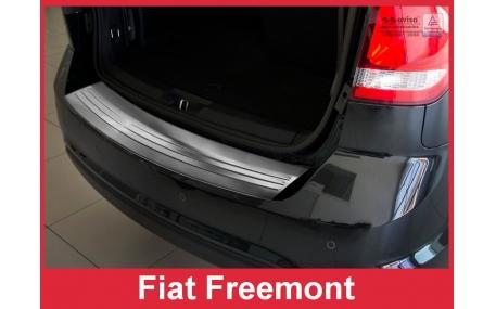 Накладка на задний бампер Fiat Freemont