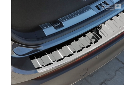 Накладка на задний бампер Ford Edge