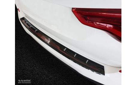 Накладка на задний бампер BMW X3 (G01)