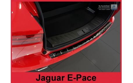 Накладка на задний бампер Jaguar E-Pace