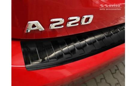 Накладка на задний бампер Mercedes A-class W177