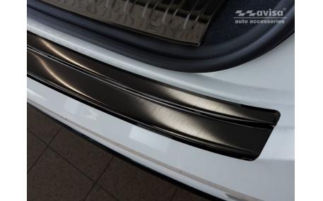 Накладка на задний бампер Audi Q8