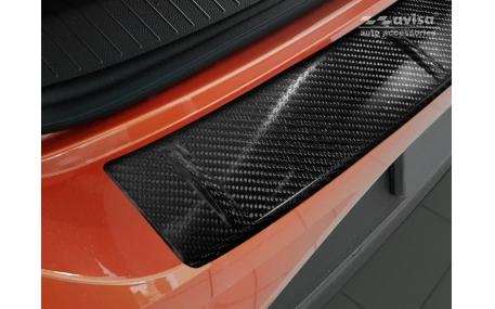 Накладка на задний бампер Volkswagen T-Roc