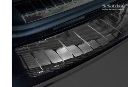 Накладка на задний бампер Audi A6 С8