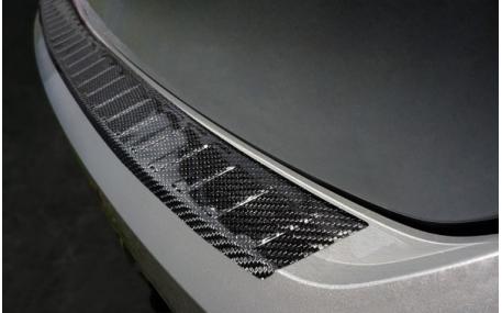 Накладка на задний бампер Volkswagen Golf 8