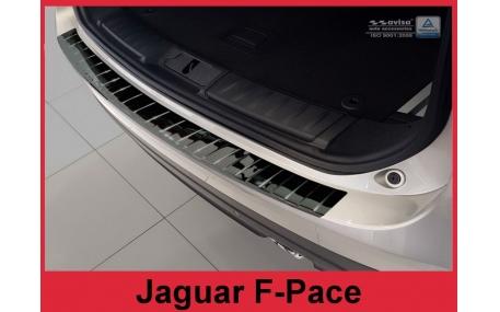 Накладка на задний бампер Jaguar F-Pace