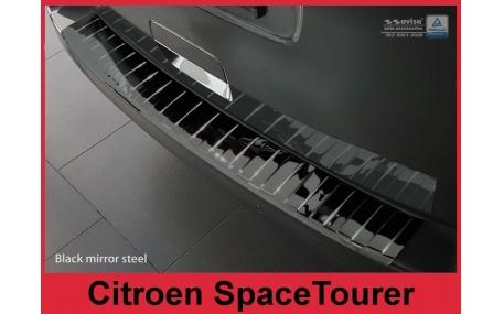 Накладка на задний бампер Citroen SpaceTourer