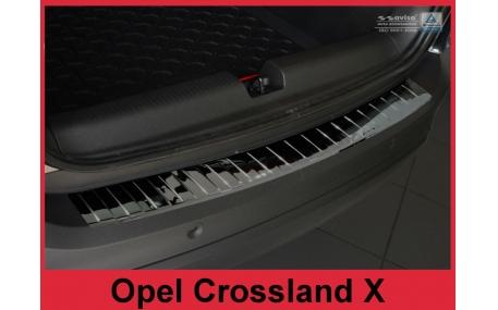 Накладка на задний бампер Opel Crossland X