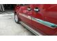 Хром накладки Fiat Doblo