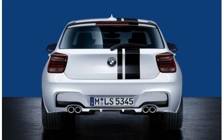 Накладка задняя BMW F20