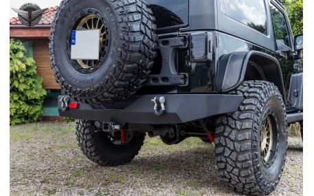 Бампер задний Jeep Wrangler