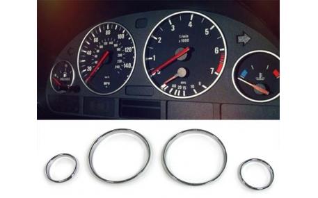 Кольца в щиток приборов BMW E39/E53