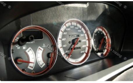 Кольца в щиток приборов Mazda