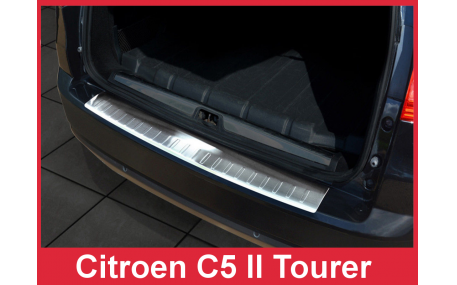 Накладка на задний бампер Citroen С5