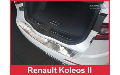 Накладка на задний бампер Renault Koleos