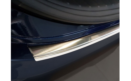 Накладка на задний бампер Hyundai Santa Fe