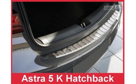Накладка на задний бампер Opel Astra K
