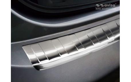 Накладка на задний бампер Peugeot 508