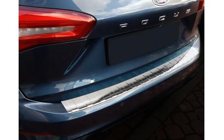 Накладка на задний бампер Ford Focus MK4
