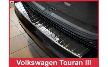 Накладка на задний бампер Volkswagen Touran