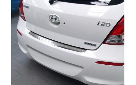 Накладка на задний бампер Hyundai i20