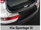 Накладка на задний бампер Kia Sportage R