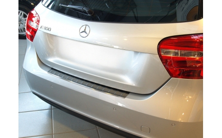 Накладка на задний бампер Mercedes A-class W176