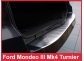 Накладка на задний бампер Ford Mondeo MK4