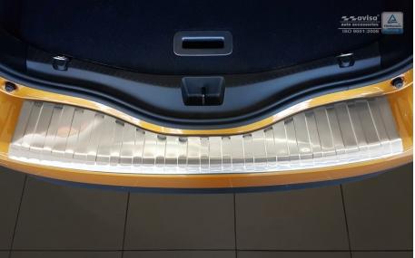 Накладка на задний бампер Renault Scenic