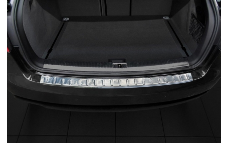 Накладка на задний бампер Audi A4 B8 2012-2015