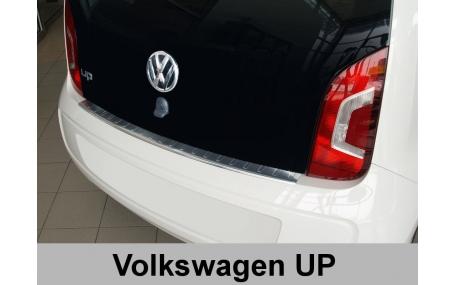 Накладка на задний бампер Volkswagen Up!